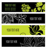 Set web banners Royalty Free Stock Photos