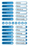 Set of web buttons Stock Photography