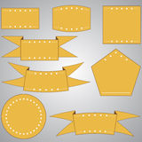 Set of WEB elements Royalty Free Stock Image