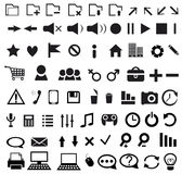 Set of Web Icon Stock Photos