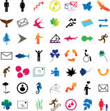 Set web-icons - 1 Royalty Free Stock Photos