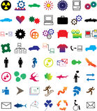 Set web-icons - 2 Stock Photography