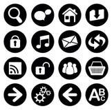 Set of web icons Royalty Free Stock Photo