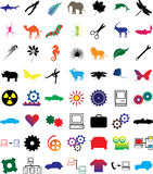 Set web-icons - 3. Business brands and web-icons for your design Stock Photo