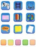 Web icons 1 Stock Image