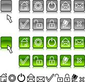 Set of web icons. Stock Image