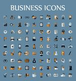Set of web icons for business, communication and Royalty Free Stock Photo