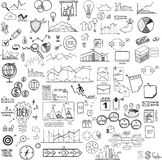 Set of web icons for business, finance and. Communication, marketing Stock Image