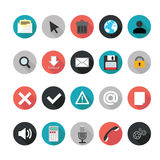 Set of web icons for business. Stock Images