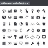 Set of web icons for business, office and communication Stock Photo