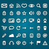 Set of web icons Stock Image