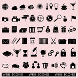Set of the web icons Royalty Free Stock Image