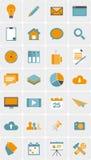 Set of web icons Stock Photo