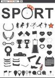 Set web icons. Sport. run Stock Image