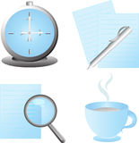 Set of web icons,vector Royalty Free Stock Images
