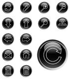 Set of web icons - vector Royalty Free Stock Photo