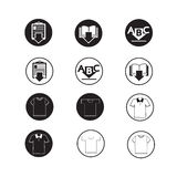 Set of web icons for website and communication Stock Photo