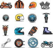 Set of web icons Stock Photography
