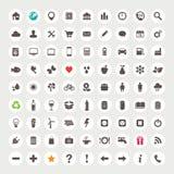 Set Web-Ikonen Stockfotos