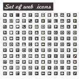 Set Web-Ikonen Lizenzfreies Stockfoto