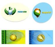 Set Web-Ikonen Einsparungswasser, Sport, sunpoint Stockbild