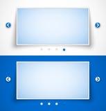 Set of web image sliders Stock Photography