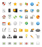 Set of web or internet icons Royalty Free Stock Image