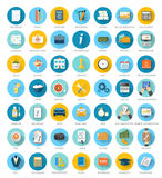 Set for web and mobile applications Stock Image