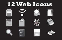 Set web office icon Stock Photography