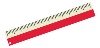 Set of web Ruler Icon Stock Photography