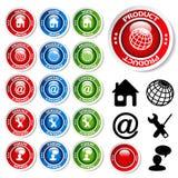Set of web templates Royalty Free Stock Photo