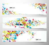 Set of website banners. Stock Image