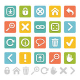 Set of website icons great for any use, Vector EPS10. Stock Photography