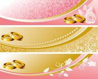 Set wedding background Royalty Free Stock Photos