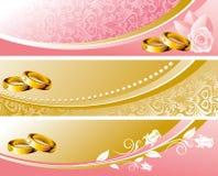 Set wedding background Royalty Free Stock Photos