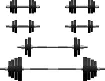 Set of weights Royalty Free Stock Photography