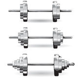 Set of weights Royalty Free Stock Image