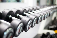 Set of weights Stock Image