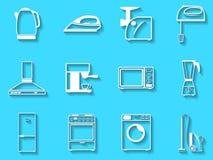 Set wektorowe ikony Fotografia Stock
