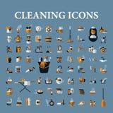 Set wektorowe ikony czerń na białym tle Zdjęcia Stock