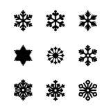 Set wektorowe ikony i wzorów muśnięcia Obraz Royalty Free
