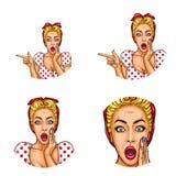 Set wektorowe wystrzał sztuki avatar round ikony dla użytkowników ogólnospołeczny networking, blogi, profilowe ikony ilustracji