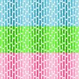 Set wektorowi bezszwowi wzory z białymi kwadratami royalty ilustracja