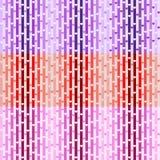 Set wektorowi bezszwowi wzory z sercami ilustracja wektor