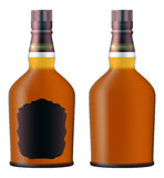 Set of whiskey bottles Stock Image