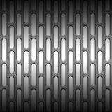 Set 8 white carbon fiber mesh on gray metal plate. Set 8. white carbon fiber mesh on gray metal plate. background and texture. 3d illustration Royalty Free Stock Images