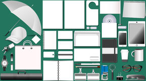 Set of white design vector illustration