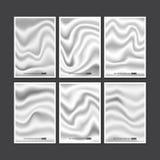 Set of white silk texture Royalty Free Stock Photo
