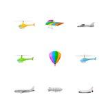 Set wiele przewiezione ikony ilustracja wektor