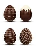 Set Wielkanocni jajka Zdjęcie Royalty Free